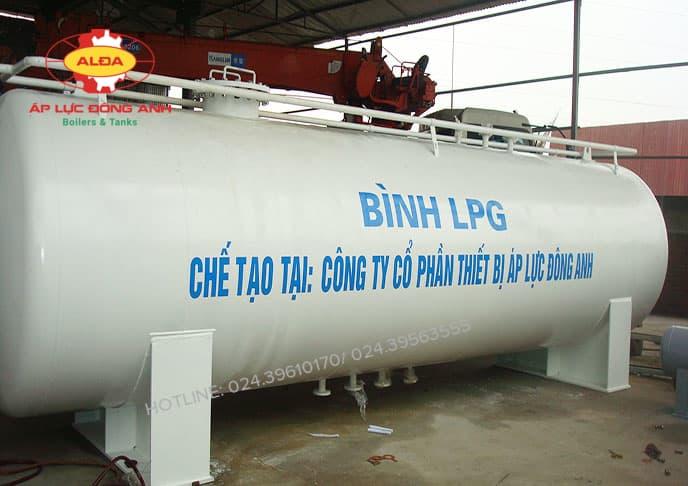 Bình chứa khí gas hoa lỏng LPG