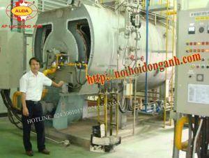 Ảnh bồ chứa khí gas hóa lỏng LPG nồi hơi đốt LPG