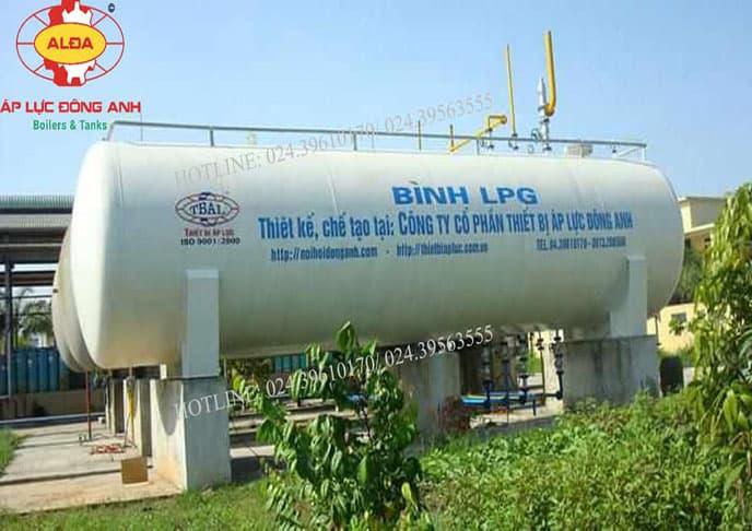 Bồn chứa khí gas hóa lỏng LPG cho ngành xăng dầu