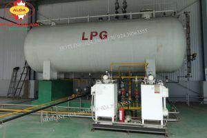 Bồn chứa khí gas hóa lỏng LPG nồi hơi đốt LPG