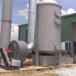 Hệ thống xử lý khí thải lò hơi đốt củi